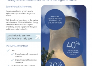 GE Nuclear PAMS Brochure Cover