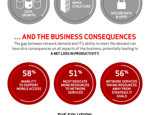 Verizon Intelligent Network Infographic
