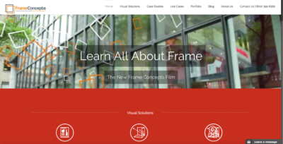 New Frame Concepts Website