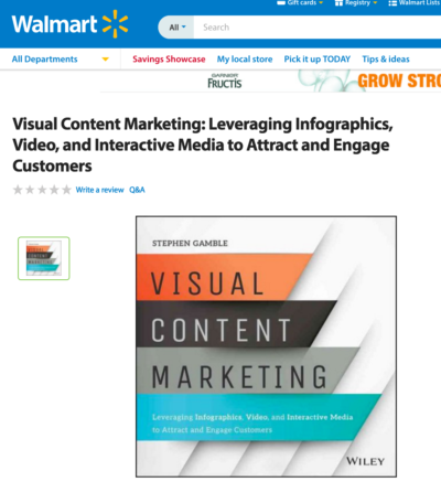 Leveraging B2C site for B2B Book