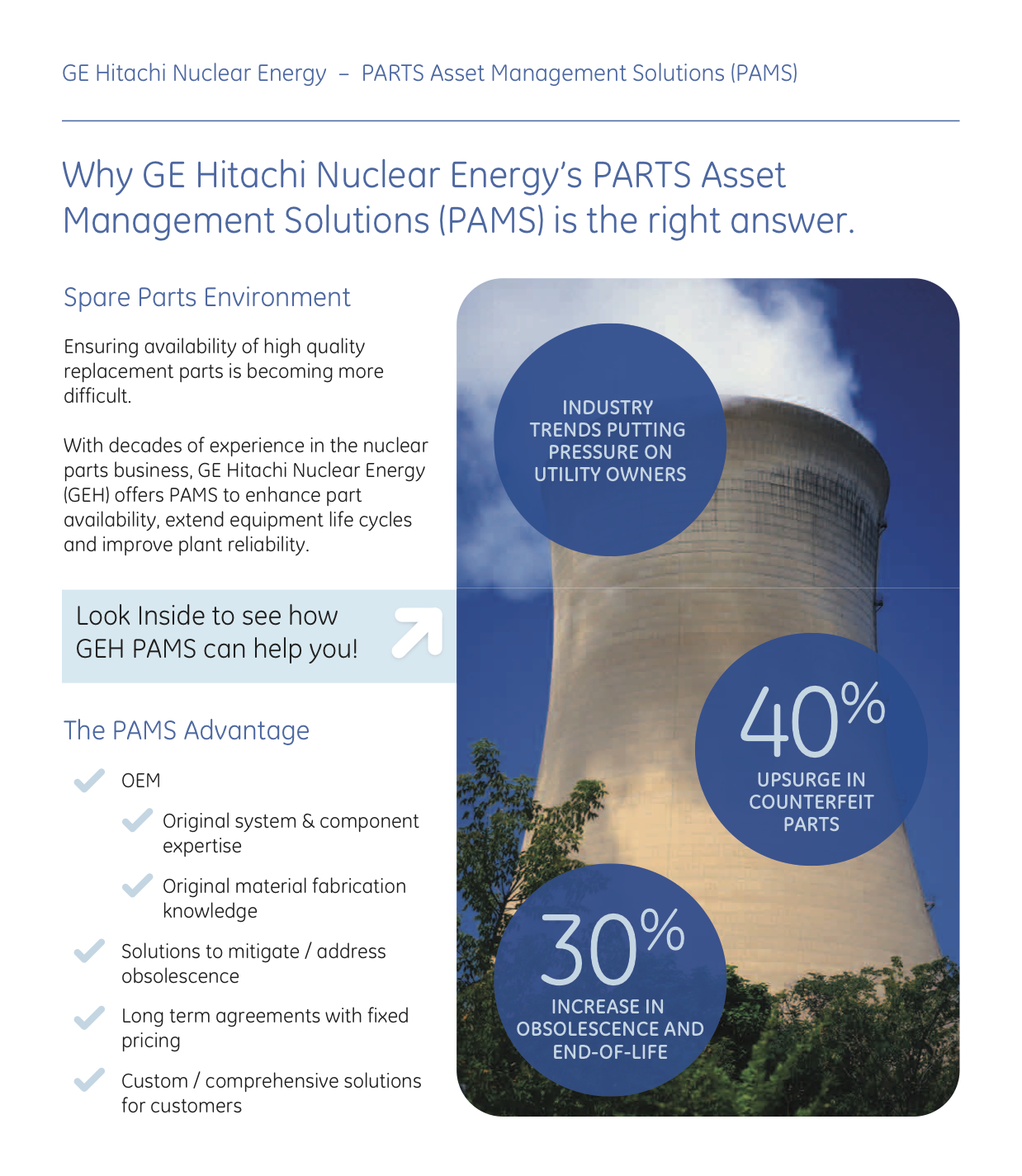 GE Nuclear Data Visualization Tool Brochure Cover