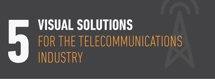 5 Visual Solutions for Telecommunications Industry Blog
